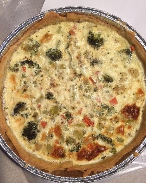 vegetable-quiche